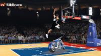 【布鲁NBA2K17实况】生涯模式:全明星赛扣篮大赛!我又来刷新最低了(61)