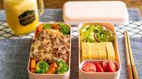 【曼达小馆】一天中最重要的哲学思考:中午吃啥好?:日式肥牛饭&厚蛋烧便当