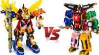 忍者变形金刚 组合机器人 VS 猛兽机器人 人气玩具 一起玩 § 垣垣玩具 §