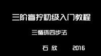 【魔方盲拧初级入门教程】-石欣 -第1节