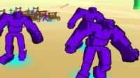 【逍遥小枫】绝对碾压,石头人大进军!| 全面战争模拟器3D#2
