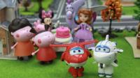 『奇趣箱』超级飞侠玩具视频:超级飞侠乐迪、小爱、多多、米莉帮助小趣邀请好朋友参加生日派对
