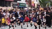 韩国的小女孩天生丽质, 没整容跳广场舞都这么好看