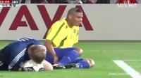 重温经典 巴西2-0德国, 大罗双响建功激情捧杯, 卡恩英雄落泪