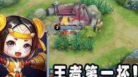 王者荣耀: 鲁班5秒拿2个红! 团战可以输, 他必须死!