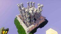 天各地方《我的世界 天空水晶》第一期 石英宫殿 空岛CTM冒险生存 安逸菌甜萝酱籽岷粉