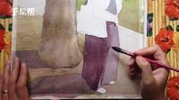 耶鲁修女-水彩人物7-手绘帮-朱敏光
