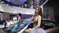 重庆嘿热! 打望2017重庆车展上的美女车模!