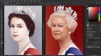 PS把年轻的英国女王瞬间变老70岁,但依旧魅力不减!