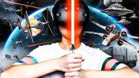 【屌德斯解说】 VR星球大战 模拟一名正义的绝地武士用激光剑与外星人殊死搏斗