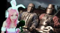 【喵女子】兔女郎化身中世纪骑士打僵尸《丧尸围城3》21