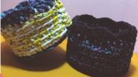 【第18集】素艺工坊 原创花系布条线收纳篮钩针编织视频教程