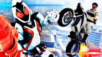 【屌德斯解说】 全新DLC飞天摩托 骑着假面骑士Fourze的摩托车飞向宇宙!