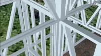 完整的轻钢集成房屋施工过程