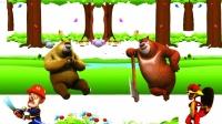 熊出没历险记之熊大熊二开春大冒险第4期