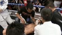振奋人心, 拳击比赛中国选手两次KO日本选手, 医护人员束手无策, 中国人必须看