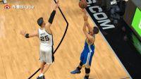 【布鲁NBA2K17实况】生涯模式:西部决赛勇士vs马刺!这锅我不背(66)
