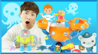 凯文和海底小队欢乐章鱼组合玩具   凯文和游戏 kevinAndPlay