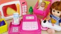 0022 - 娃娃娃娃娃娃和微型烤箱食品玩具玩