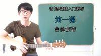 【小鱼吉他屋】吉他0基础入门教学 第一课 吉他调音