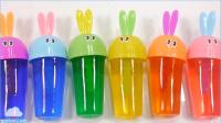 果冻软冰淇淋做法布丁软胶手工DIY婴儿娃娃惊喜鸡蛋 视频趣味食玩【俊和他的玩具们