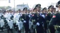 俄罗斯红场大阅兵中国解放军三军仪仗队