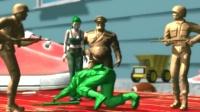 【玩具兵大战:沙展英雄】全CG动画中英字幕