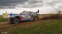 WRC2017波兰拉力赛上的精彩瞬间