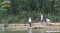 钓鱼实战(43)水库拔巨物, 全水库钓鱼人围观