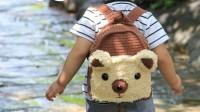 猫猫编织教程  卡通双肩包--轻松熊  钩针毛线编织教程 猫猫很温柔