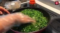 陕西嫂子手把手教你做老陕传统韭菜盒子12分钟超细讲解良心巨献
