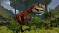 【恐龙猎杀模拟器】手枪单挑霸王龙, 体验史前恐龙时代! 小格解说