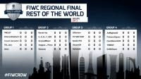 非凡网 - FIWC 2017 ROW半决赛 - VincentCN vs DaWeiSauce