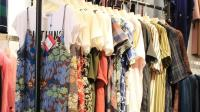 阿邦服装批发-夏装时尚套装棉麻大版衫混批30件起批--669期