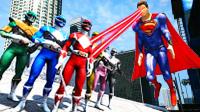 【小熙&屌德斯】 mod实验室 超凡战队大战超人!战争机器超级燃到爆炸!