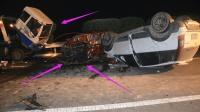 监控实拍: 大车司机确实有点不厚道了, 一脚刹车, 就能救多人性命!