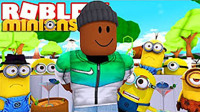 小飞象✘乐高小游戏✘变身小黄人超级跑酷逃离蛋糕岛(上集) Roblox虚拟世界