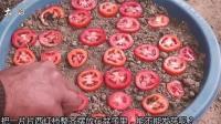 大叔把吃不完的西红柿切片埋到土里, 几个月后, 老婆傻眼了!