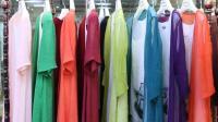 阿邦服装批发-夏款时尚棉麻面料两件套20套起批--690期