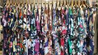 阿邦服装批发-夏装时尚棉麻面料大版小衫上衣20件起批--695期