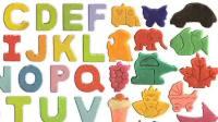 百变彩泥ABC彩泥字母ABC变形迪斯尼彩泥玩具ABC儿童英语