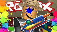 小飞象✘乐高小游戏✘搞笑版CS模拟器 被狙击手疯狂爆头 Roblox虚拟世界