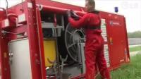 德国连消防车都满满的黑科技, 我只能竖起大拇指