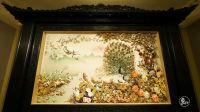 7旬大爷捡贝壳雕成700条龙和七彩麒麟 太神了 783
