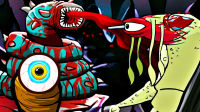 【屌德斯解说】 神奇大叔的冒险2 下篇 发现异形蠕虫巢穴!两个结局全解锁!