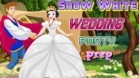 白雪公主婚前准备Snow White Wedding Party Prep