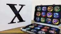 【铁骑转载】レオンチャンネル 集团X版 假面骑士 能量道具徽章24个 EXAID