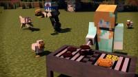 【大橙子】浙大服生存#15吊打烈焰人[我的世界Minecraft]