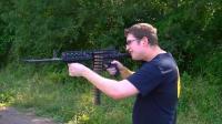 脱胎换骨! 把AR步枪改造成机关枪, 子弹管够试试最新威力
