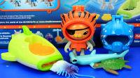 海底小纵队 呱唧猫和饼干发射器